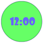 Shine Digital Clock icon