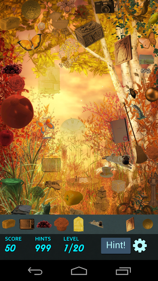 Hidden Object - Fantasy Forest- screenshot