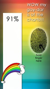 Gay Meter Fingerprint Scanner - screenshot thumbnail