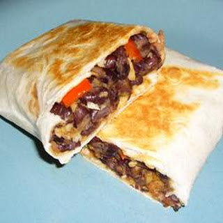 Black Bean and Artichoke Burritos