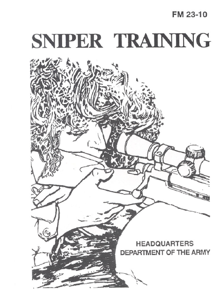 US Army Sniper Training Manual- screenshot