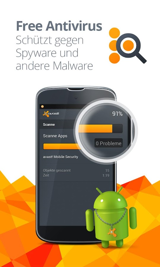 Mobile Security & Antivirus – Screenshot