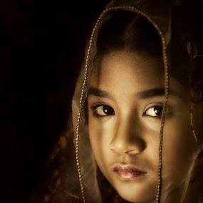 The Innocent by CJ Cantos - People Portraits of Women ( child, dramatic, child portrait, childhood, drama, portraits, portrait )