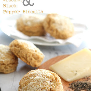 Asiago & Cracked Black Pepper Biscuits