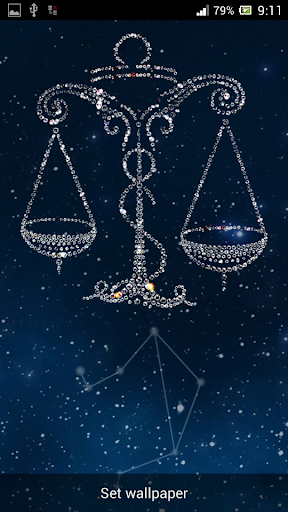Zodiac Libra Live Wallpaper