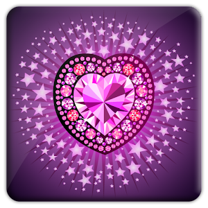 Diamond Heart 3D LiveWallpaper apk