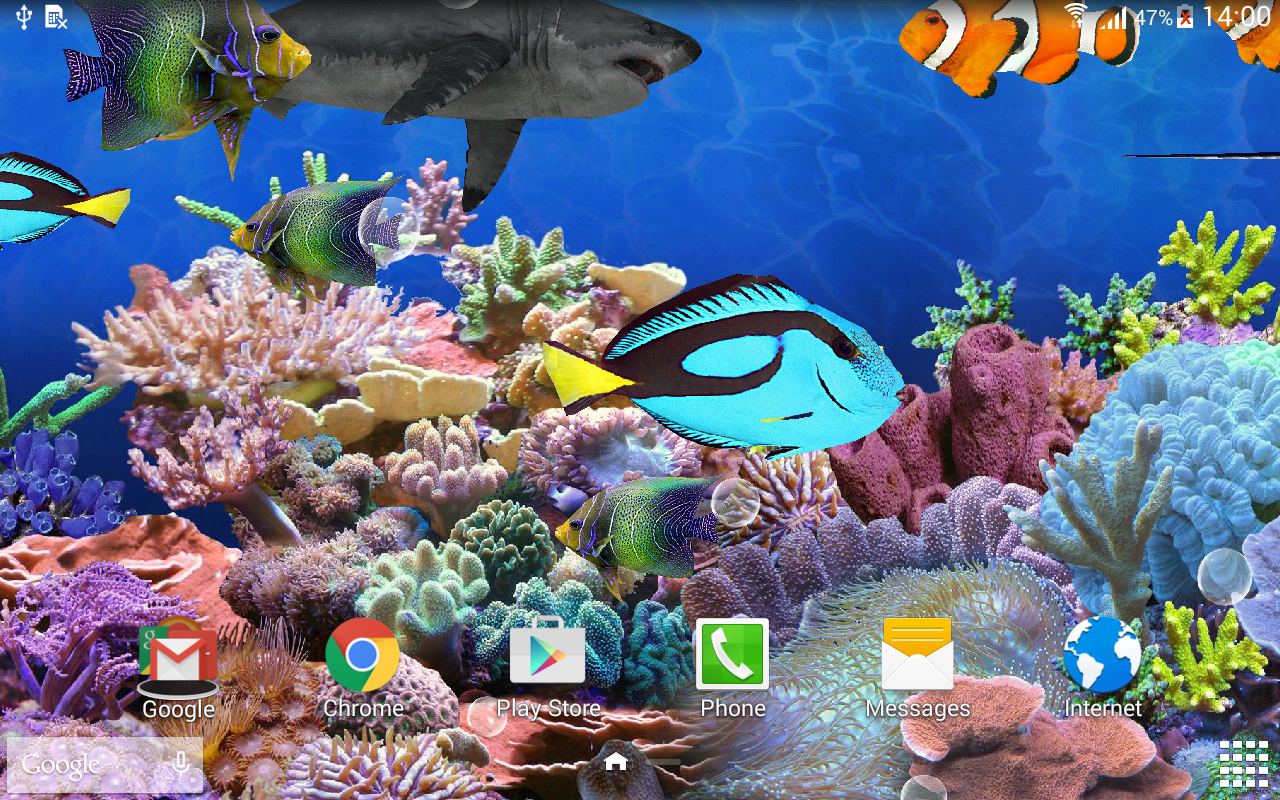 aquarium live wallpaper hd android apps on google play. Black Bedroom Furniture Sets. Home Design Ideas