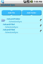 ScheduledSync Screenshot 2