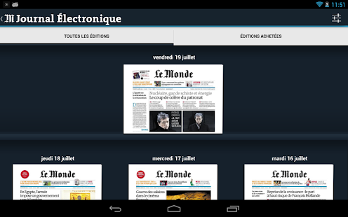 Le Monde.fr - screenshot thumbnail