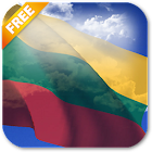 3D Lithuania Flag Live Wallpaper icon