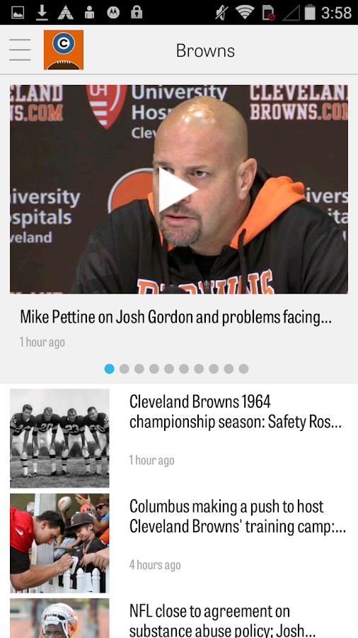 cleveland.com: Browns News- screenshot