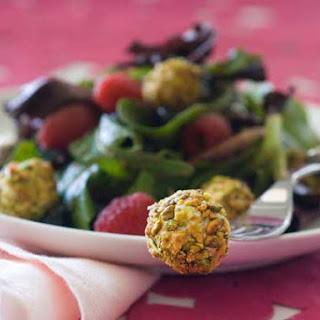 Gluten Free Pistachio Berry Goat Cheese Salad