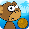 Monkey Kick Off -FREE fun game icon