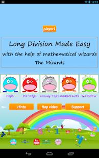 Long Division Games Lite - screenshot thumbnail