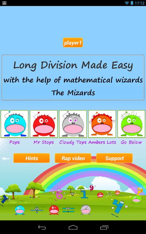 Long Division Games Lite - screenshot
