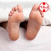 Funny tickling foot joke T&J