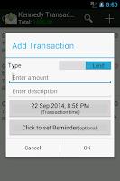 Screenshot of IOU -Lend & Borrow Manager