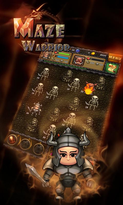 Maze Warrior - screenshot