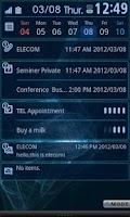 Screenshot of ELECOM bizSwiper Email