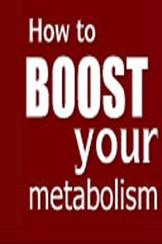 Boost Your Metabolism Guide - screenshot