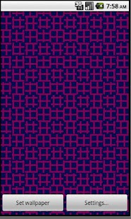 Op Art Weave Live Wallpaper - screenshot thumbnail