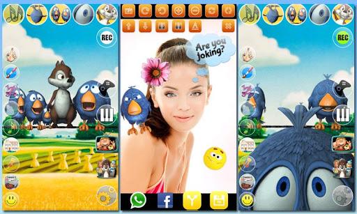 無料娱乐Appのワイヤーで話している鳥 - AdFree|記事Game