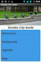 Screenshot of Dundee City Guide