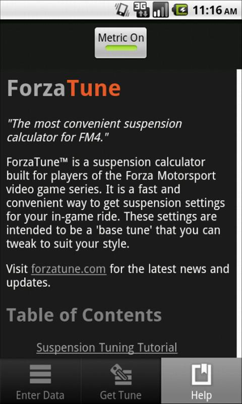 ForzaTune 4- screenshot