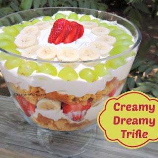 Creamy Dreamy Trifle.