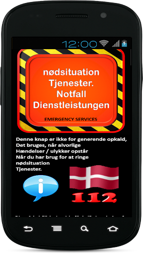 Emergency Services Denmark