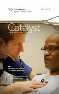 Catalyst Magazine - screenshot thumbnail