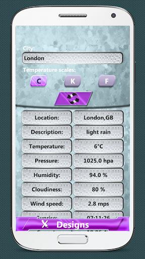 冷静 时钟和天气小工具