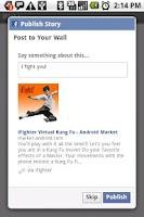 Screenshot of iFighter Virtual Kung Fu