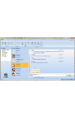 SMS Center - Send SMS from PC - screenshot