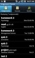 Screenshot of Assignment Planner PRO