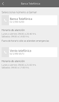 Screenshot of Banco Falabella Chile