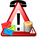 CSB Fake Call/SMS/Battery FULL icon