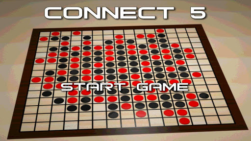 Connect 5 - board game
