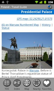 Poland - FREE Guide & Map - screenshot thumbnail