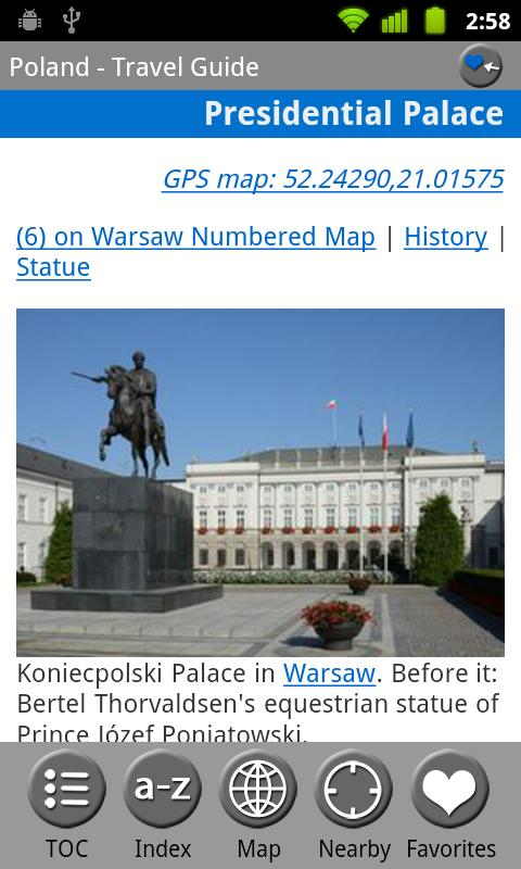 Poland - FREE Guide & Map - screenshot