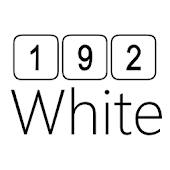 192C White Icon Pack