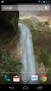 Jungle Waterfall LiveWallpaper - screenshot thumbnail