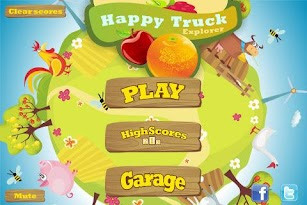 Happy Truck Explorer -- truck express racing game screenshot for Android