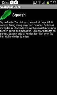 Säsongens Grönt- screenshot thumbnail