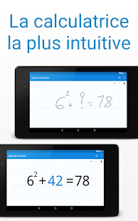 MyScript Calculator – Vignette de la capture d'écran