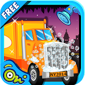 Little Truck Wash - Baby Games