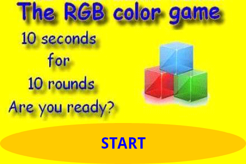 RGB Color Game