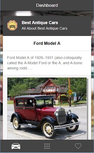 Best Antique Car Picture
