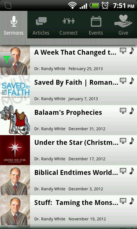 Randy White Ministries - screenshot