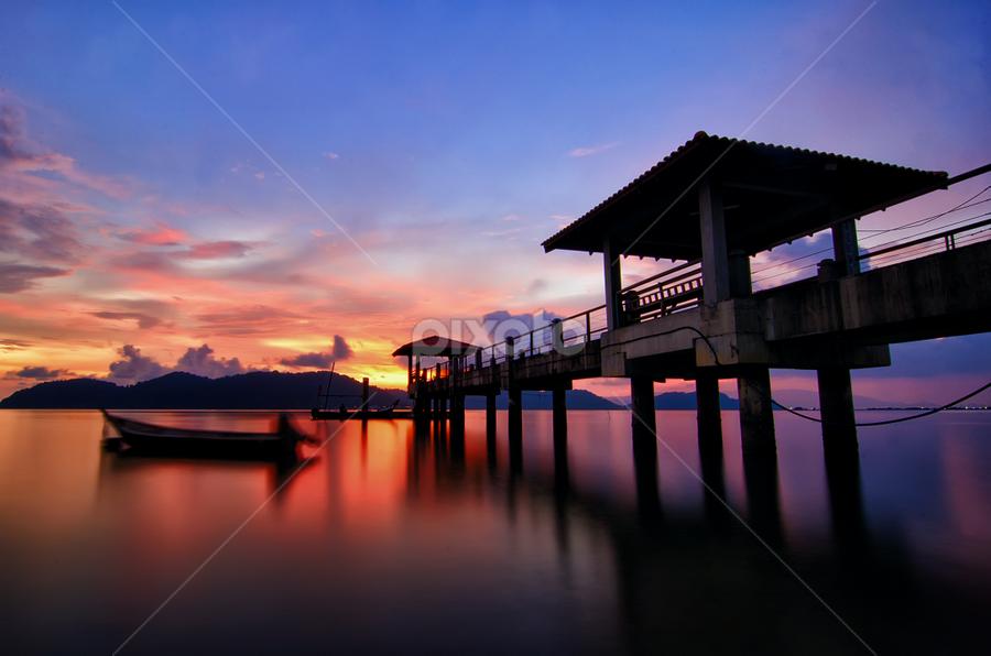-patient- pulau aman by G-en Are Lock Stuck - Landscapes Sunsets & Sunrises ( , golden hour, sunset, sunrise )